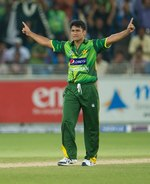 Yasir Arafat took two wickets in three overs