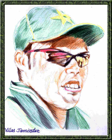 Danish Kaneria - Portrait Sketch