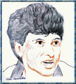Kiran More -  Portrait Sketch