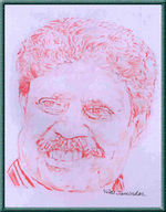 Kapil Dev -  Portrait Sketch