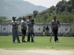 Coach Dav Whatmore guiding the players, Pakistan, Abbotabad training camp 2013
