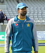 Rahat Ali ready to practice for 3rd Test at Edgbaston, Pakistan in England and Ireland 2016 tour